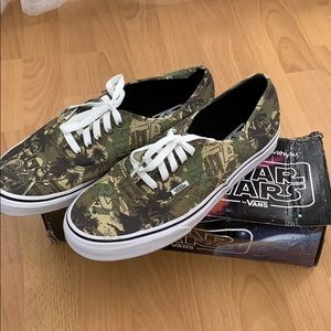 e4b87a9c6c6793 Women s Star Wars Vans Shoes on Poshmark